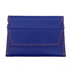 Porte-carte bleu