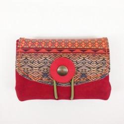 Porte Monnaie Braga rouge...